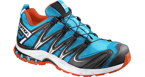 Salomon XA Pro 3D GTX Trailrunning Shoes Men scuba blue/black/tomato red